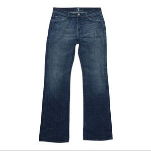 Men's 7 for all mankind bootcut jeans size 33